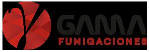 Gama Fumigaciones | La Serena | Coquimbo | Valparaiso | Rancagua | Curicó | Talca | Linares | Parral | Chillán | Concepción | Temuco | Valdivia | Osorno | Puerto Montt | Castro Logo